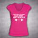 Feel Safe At Night Sleep With Bodybuilder - Dámské triko růžové s bílým potiskem - velikost XXL