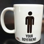 Hrnek Your boyfriend - My boyfriend