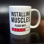Hrnek Installing Muscles
