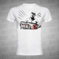 Aleš Bejr - Bílé triko - Bejr s cedulí