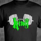 King - Nápis + Koruna