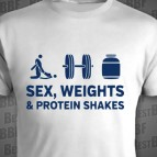 Sex weights - Protein shakes