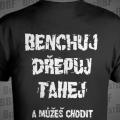 Benchuj, dřepuj, tahej - a můžeš chodit Nahej - Filip Grznár