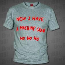 Now I Have Muchine Gun - Pánské triko