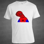 Spodermon - Pánské triko bílé - velikost L