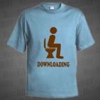 Downloading - Pánské triko