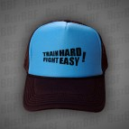 Train hard Fight easy - Kšiltovka Trucker