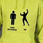 Your Boyfriend Me - Mikina s kapucí