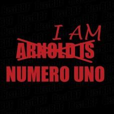 I am numero uno