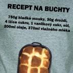 Recept na Buchty - Pánské triko