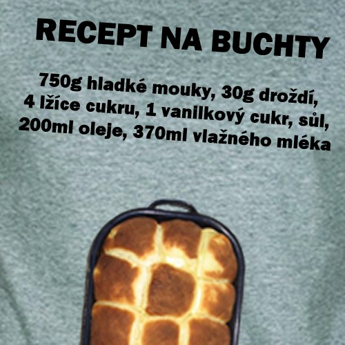 c52471e16ee Recept na Buchty - Pánské triko - BestBBF E-SHOP
