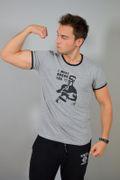 Pánské tričko dvoubarevné 5